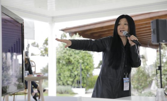 L'intervento di Stevie Kim di Vinitaly International