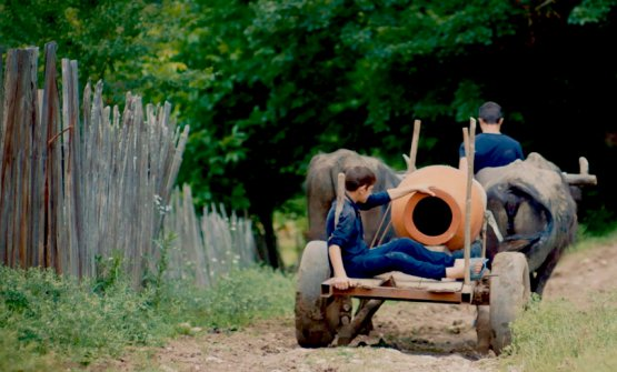 Trasporto di anfore nelle campagne del Kakheti