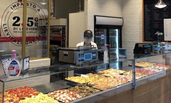 Alice Pizza,al Centro Commerciale Milanofiori, Assago (Milano)
