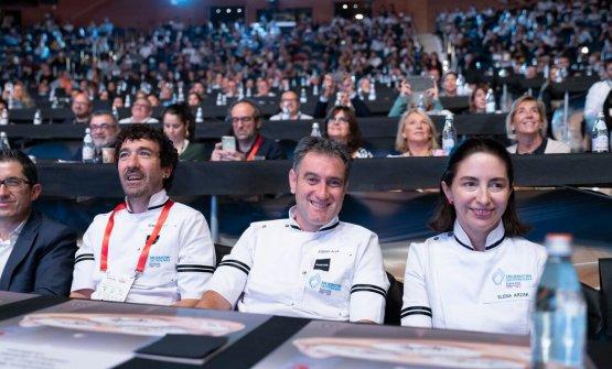 EnekoAtxa, Josean Alija, Elena Arzak