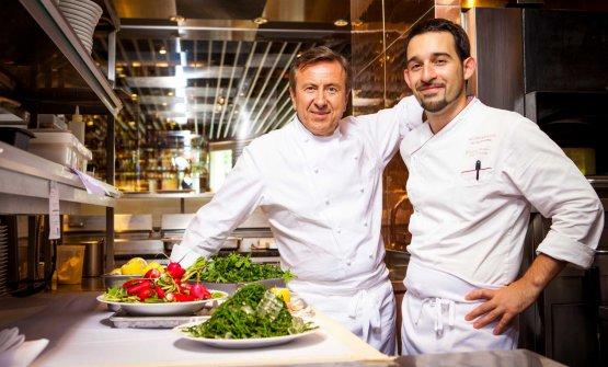 Riccardo Bertolino e Daniel Boulud