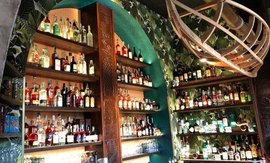 Parte dei distilliati, al 90% rum