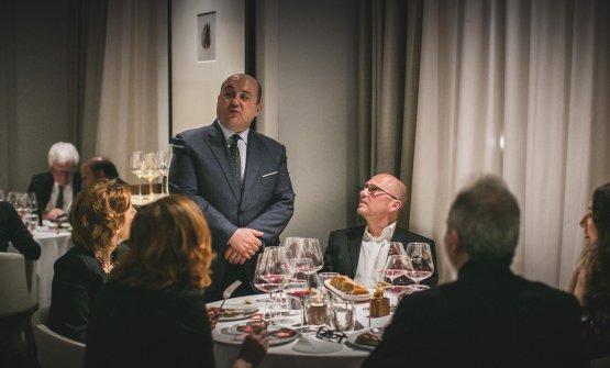 Con Heinz Beck, chef della Pergola di Roma