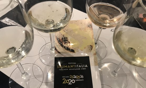 I vini in degustazione a Spumantitalia