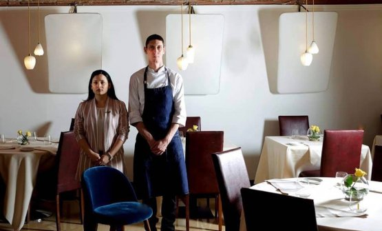 NadiaMöller, patron e domina dellasala,MarcoLagriminoin cucina: sono le due anime del Momio, a Firenze
