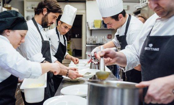 Lo chefMatteo Balestra, con la barba