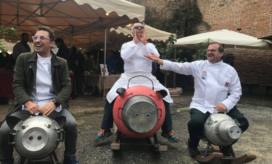 Stefano Ciotti, Filippo Chiappini Dattilo, Massimo Spigaroli