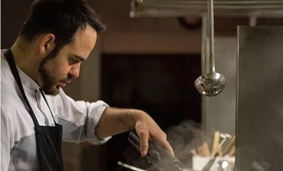 Alessio Mori, fiorentino, 30 anni, chef di Sabatini