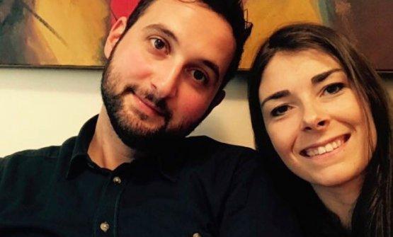 Marco Primiceri e Lucia De Prai