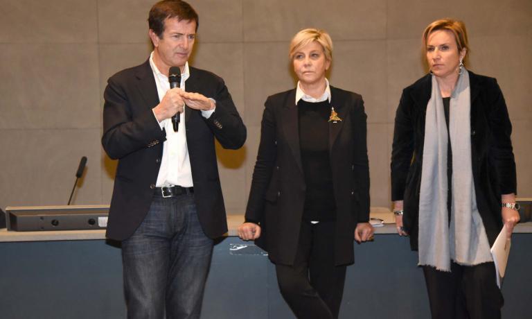 Giorgio Gori, Laura Castelletti e Roberta Garibaldi