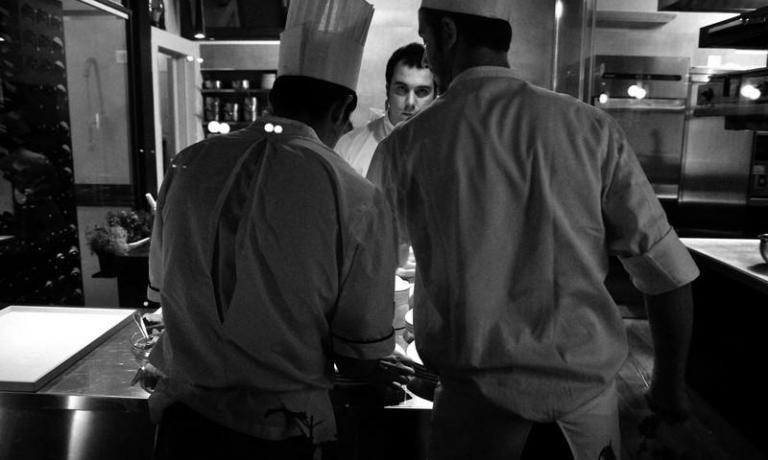 Nicola Dinato is the patron-chef at Feva, in Caste