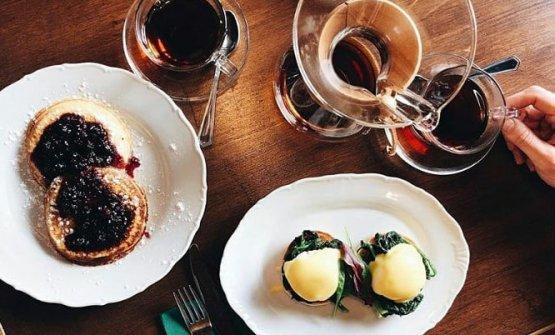 Colazione con egg florentine al Momio