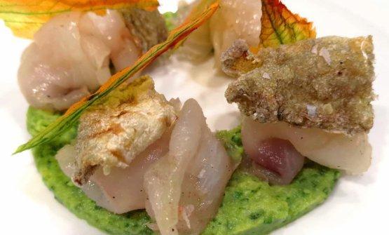 Carpaccio di scorfano e zucchina alla scapece: il piatto dell'estate di Giulio Coppola, chef e patron de La Galleria di Gragnano (Napoli), è un concentrato di sapori campani