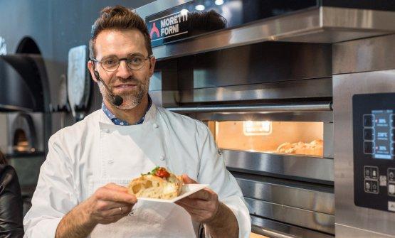 Renato Bosco sarà uno dei grandi professionisti della cucina allo stand di Moretti Forni a Identità Milano 2019