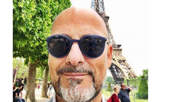 Cedroni in visita alla Tour Eiffel