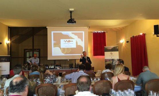 La masterclass con dieci vini rappresentativi della produzione maremmana