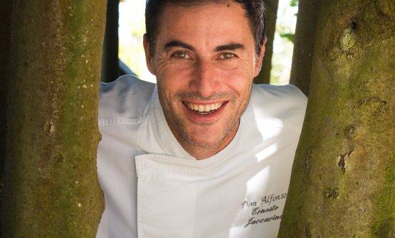 Lo chef Ernesto Iaccarino, patron del Don Alfons 1890
