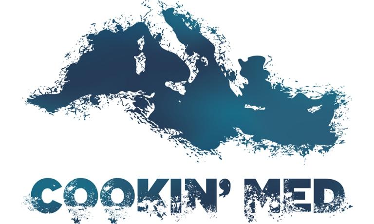 Il logo della prima edizione di Cookin'Med, ideato da Pino Cuttaia, che si chiude in queste oread Agrigento