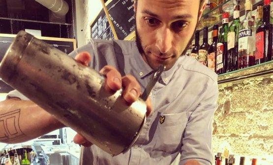 Stefano Cimicata, bartender