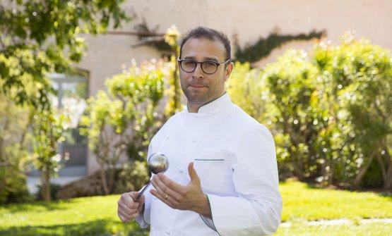 Pietro Penna, chef del ristorante Casamatta del Vi