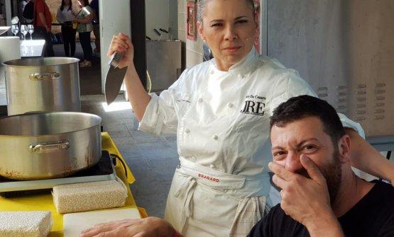 Iside De Cesare tra chef e killer