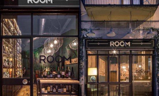 Le due porte del Finest Wine Room e del Finest Drink's Room. Sono distanti pochi metri, noi le abbiamo affiancate