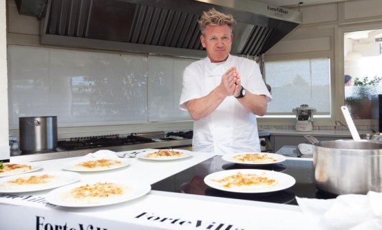 Gordon Ramsay al Forte Village, in Sardegna