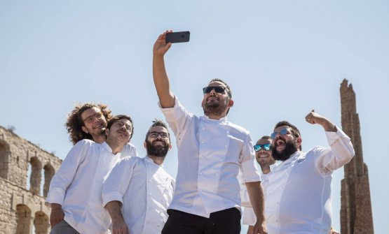 Selfie di brigata