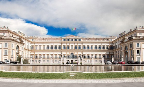La splendida Villa Reale di Monza. Qui i Cerea apr