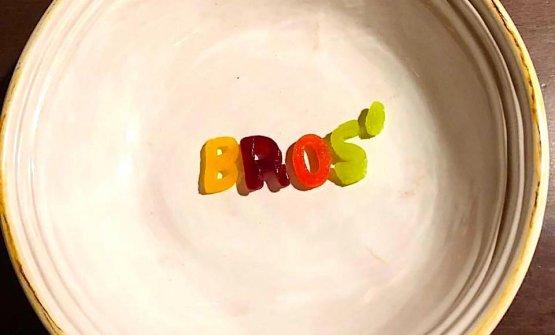 Un piatto simbolo dei Bros (Foto di Doriana Piccarreta)