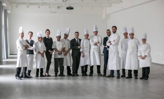 Luigi Taglienti & staff