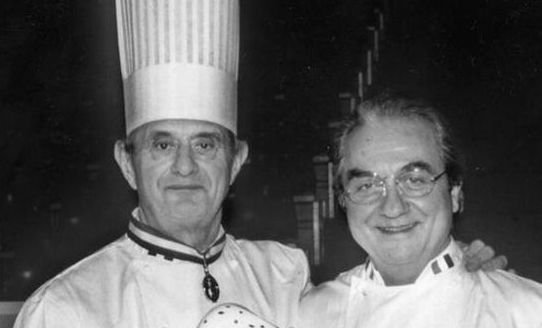 Paul Bocuse e Gualtiero Marchesi