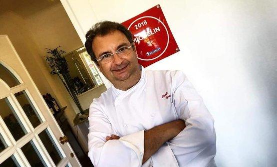Paolo Gramaglia, chef-patron del ristorante President a Pompei (Napoli)