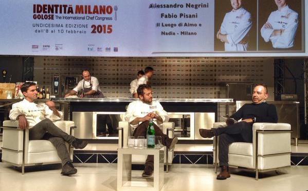 Fabio Pisani, Alessandro Negrini e Danilo Giaffreda