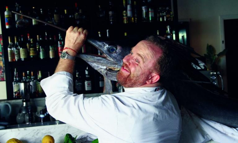 """Giandomenico Caprioli, detto """"Giando"""", chef italiano, oggi proprietario di 5 insegne a Hong Kong. In Italia lavorò con Vissani e Angelini"""