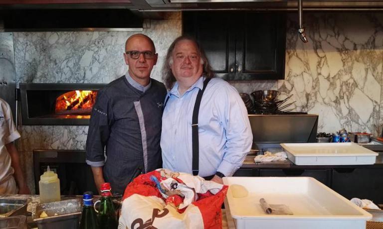 Pepe col premio Pulitzer Jonathan Gold