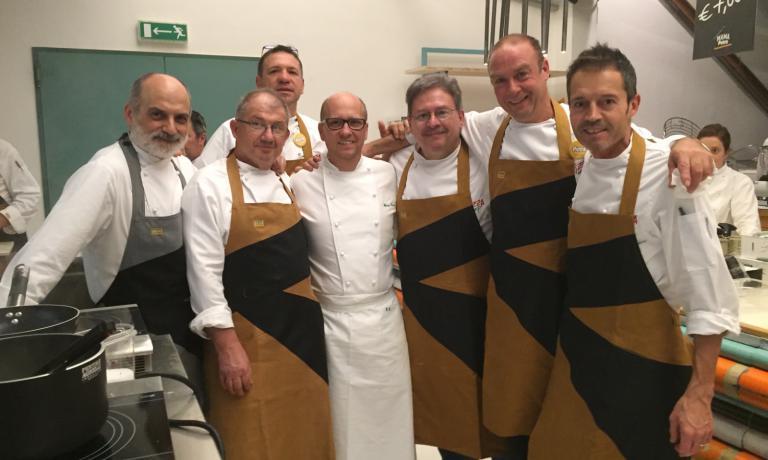 Assenza con Heinz Beck e altri protagonisti dell'ultima PizzaUp