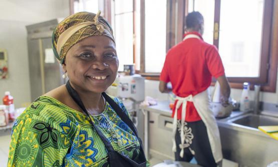 Yvonne da Kinshasa, vincitrice dell'ultima edizione con unNide d'oiseau, uovo cotto in una polpetta di carne macinata
