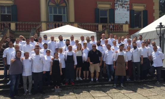 Foto di gruppo dell'edizione 2016