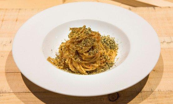 Spaghetti al pomodoro com Za'atar di Sarah Grueneberg