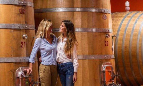 Un'altra bella immagine di Gianna Neri e della figlia Diletta