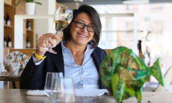 Sandra Ciciriello, classe 1966, pugliese di Ostuni, ex maître e sommelier di Alice ristorante, Milano, al fianco di Viviana Varese per 14anni. Nel suo futuro c'è ancora Milano