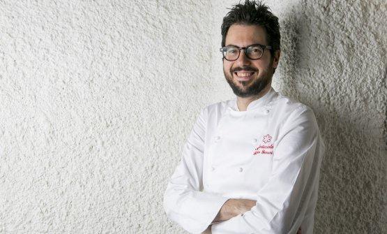 Fabrizio Ferrari, chef del ristorante di famiglia,