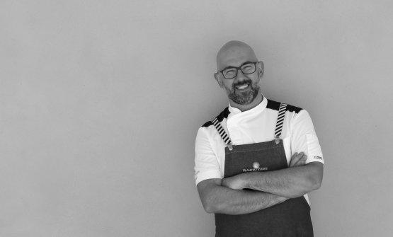 Angelo Pumilia, chef del ristorante La Foresteria