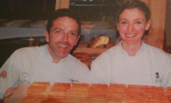 Con Sebastien Bras, chef, figlio di Michel