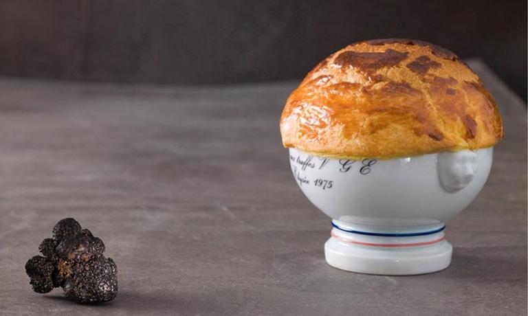 Soupe aux truffes noires VGE 1975