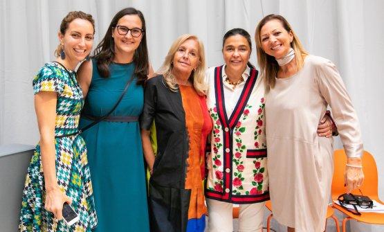 Elisa Pella, Giulia Corradetti, Alessandra Piazzoni, Paola Jovinelli, Cinzia Benzi, colonne del progetto