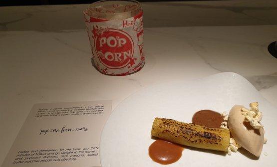 Pop corn from Mars