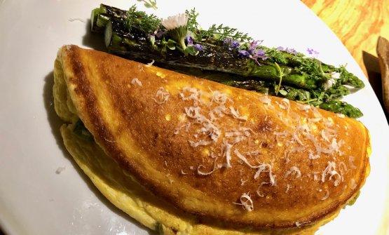 Omelette soufflée diFrancesco Capuzzo Dolcetta, Marzapane, Roma