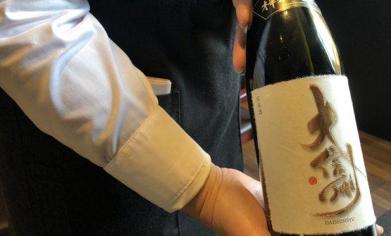 Ancora piccola la carta, con una decina di vini e altrettanti sake. In sala c'è Yuko Negishi, già da Wicky's